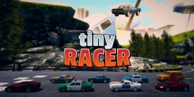 Tiny Racer Box Art