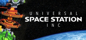 Universal Space Station Inc. - Sci Fi Economy Management Resource Simulator Box Art