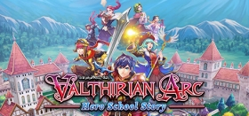 Valthirian Arc: Hero School Story Box Art