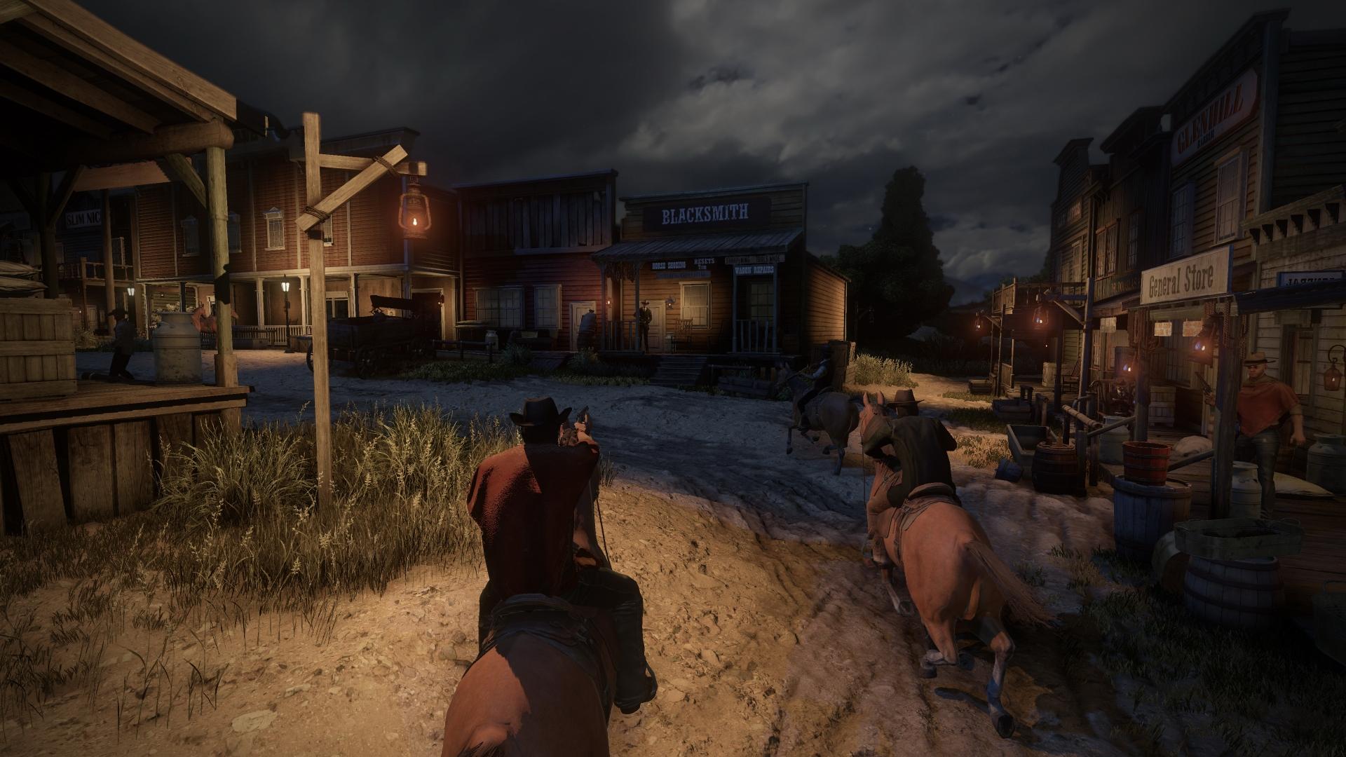 Wild west game