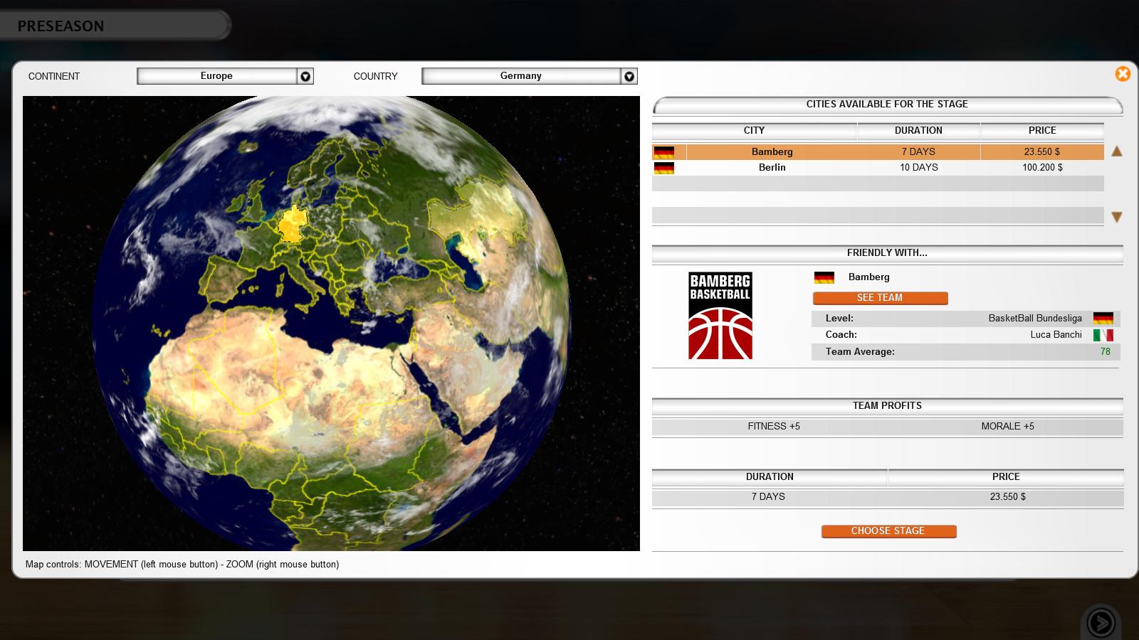 International Basketball Manager Images Screenshots Gamegrin