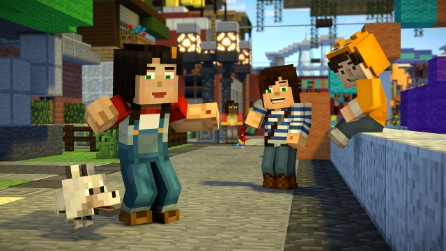 Minecraft Story Mode Season 2 Episode 1 2 Review Gamegrin