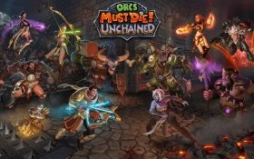 Orcs Must Die! Unchained Box Art
