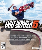 Tony Hawk's Pro Skater 5 Box Art