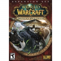 World of Warcraft Mists of Pandaria Box Art