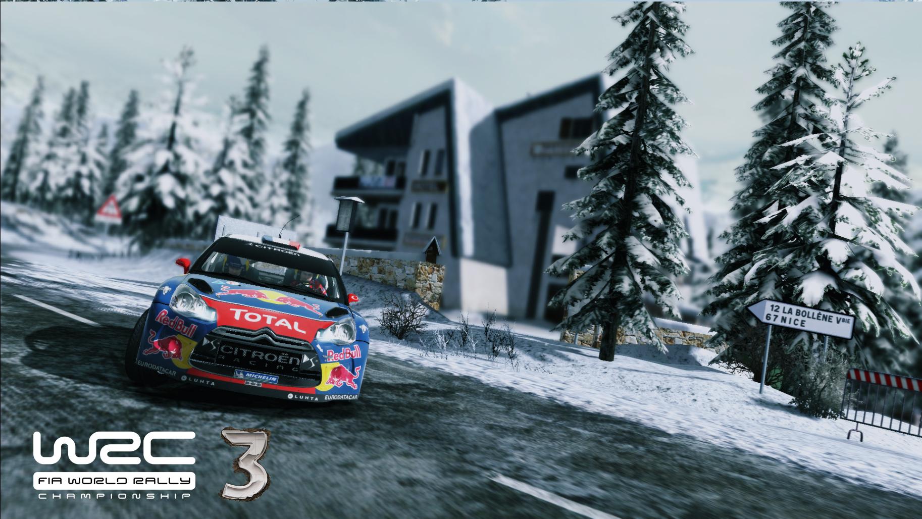 WRC 3 Screenshots.