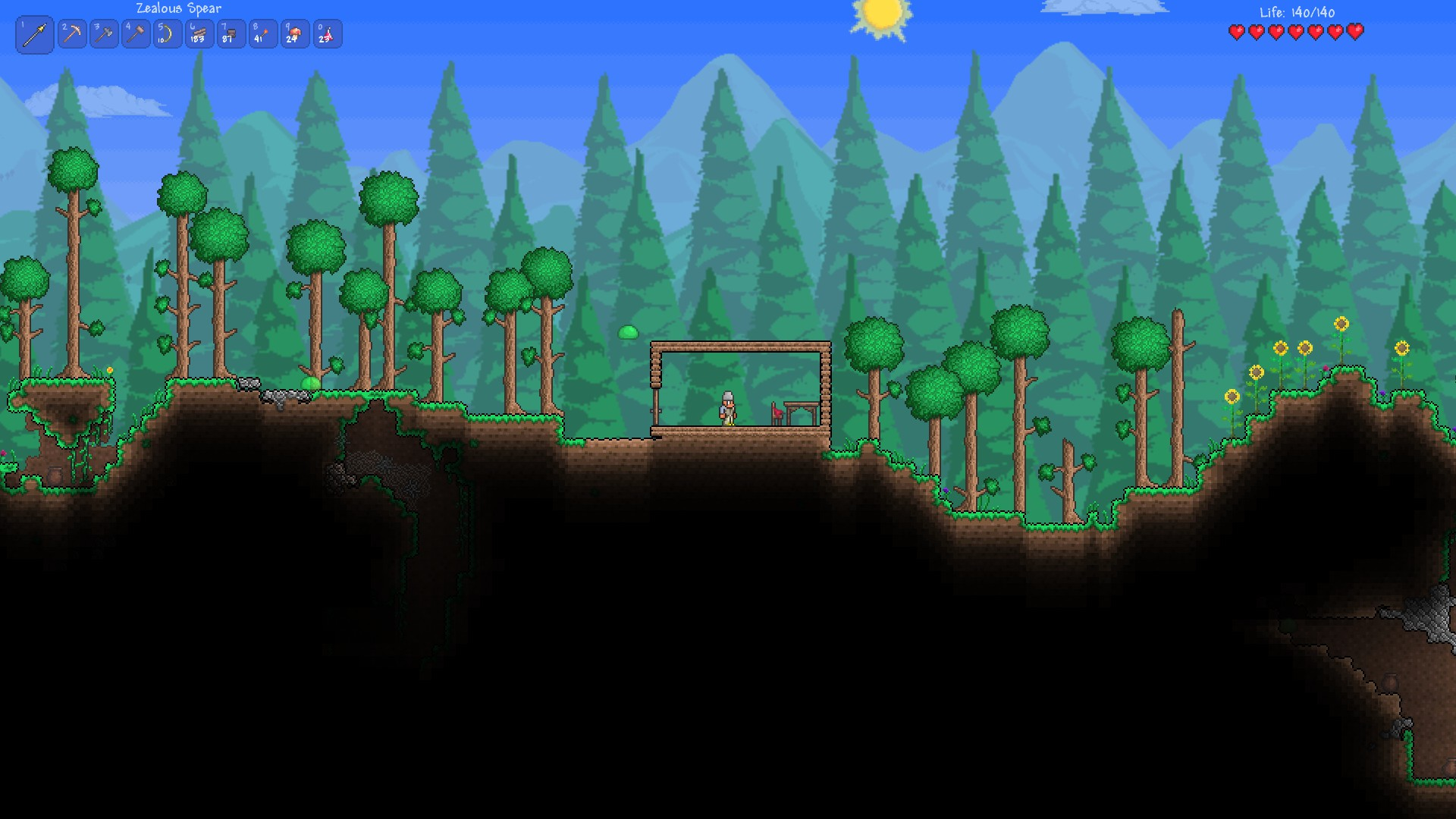How To Make A House In Terraria Gamegrin