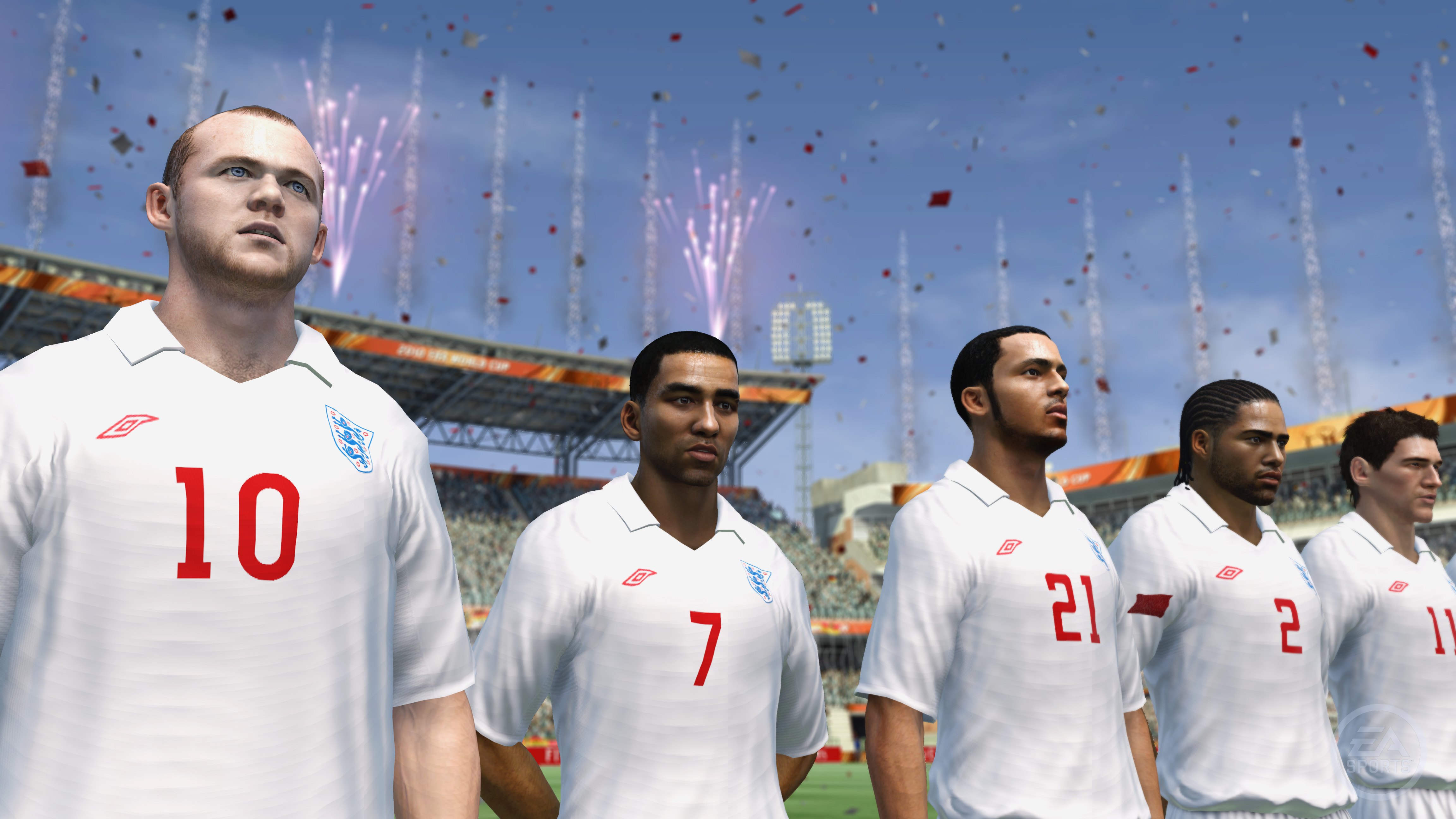 England fifa 2010 team collecting silverware trophy fifa 2018
