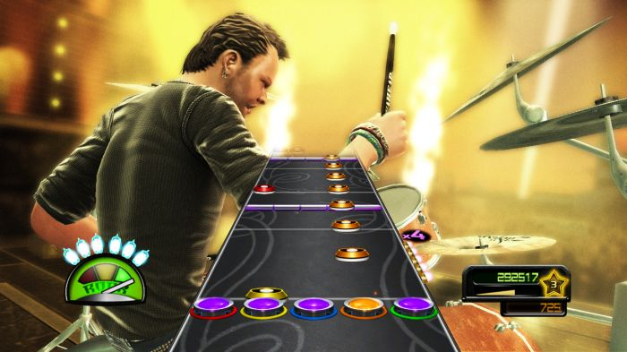 guitar hero metallica gamegrin. Black Bedroom Furniture Sets. Home Design Ideas
