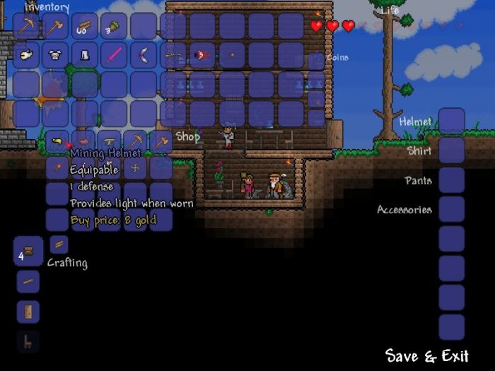 Terraria review gamegrin for Fish finder terraria